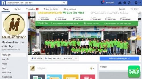 Tin đăng mua bán VIP MuaBanNhanh trên Fanpage